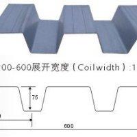 承德宝骏开口式楼承板YX75-200-600厂家直销| 楼承板YX75-200-600
