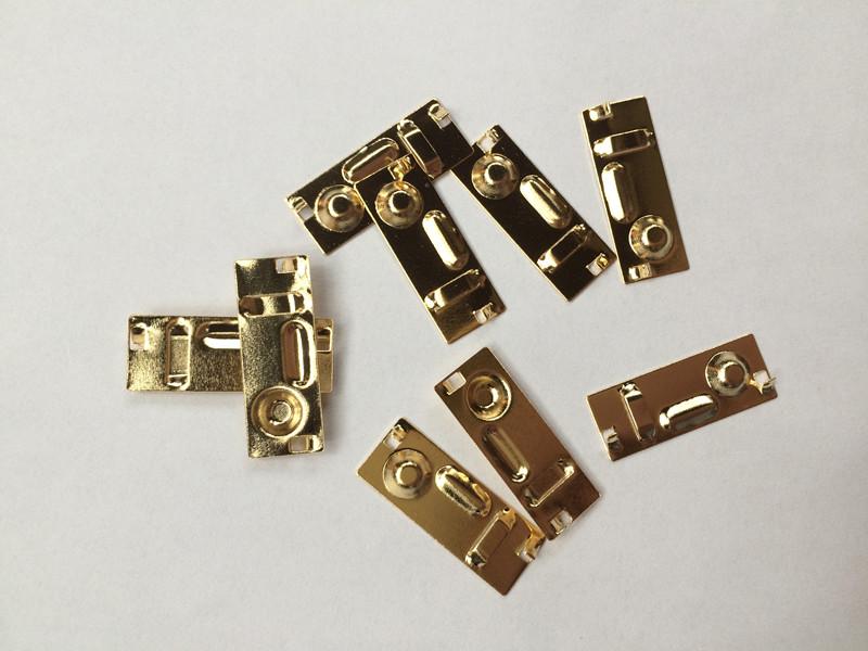 广东弹簧弹片电镀真金加工,深圳电子元器件镀24K金电镀厂