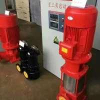 37千瓦100口径消防泵XBD11.0/15-80G*7大口径流量喷淋泵/每秒25升加压多级泵