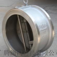 广腾304不锈钢对夹式止回阀行情图片