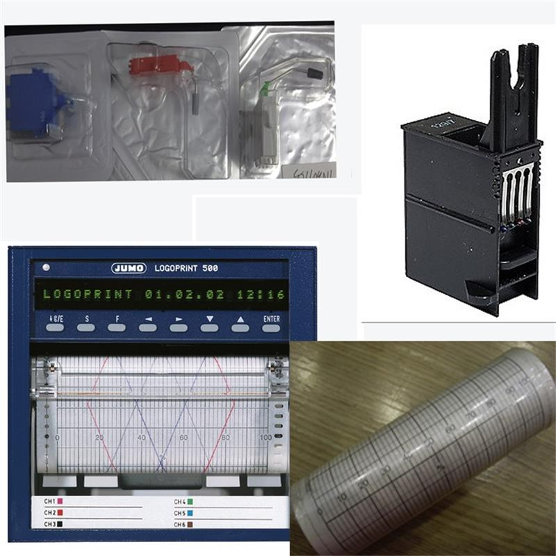 山东JUMO打印头墨盒原装电话 久茂墨盒型号TN343538价格 LOGOPRINT500打印头厂家