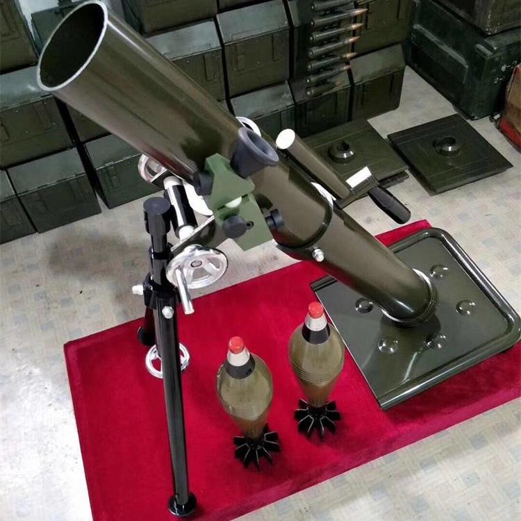迫击炮模型 迫击炮模型 军事模型