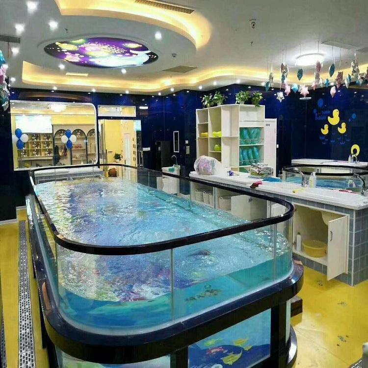 全透明钢化玻璃儿童游泳池 15年品质 厂家直销