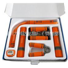 现货批发组合健身小套盒哑铃握力器拉力器跳绳家用便携式礼品套装 便携式小哑铃套装