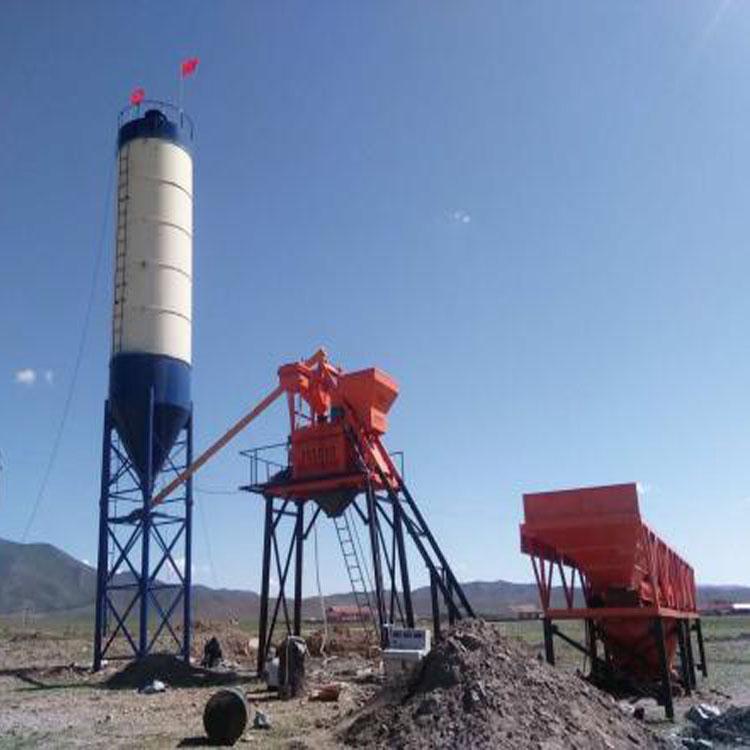 海富机电25小型搅拌站现货供应