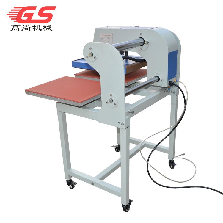 厂家直销上滑式气动双工位烫画机 t恤数码印花机多功能平板升华热转印机