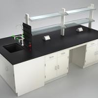 实验室专用钢木中央台