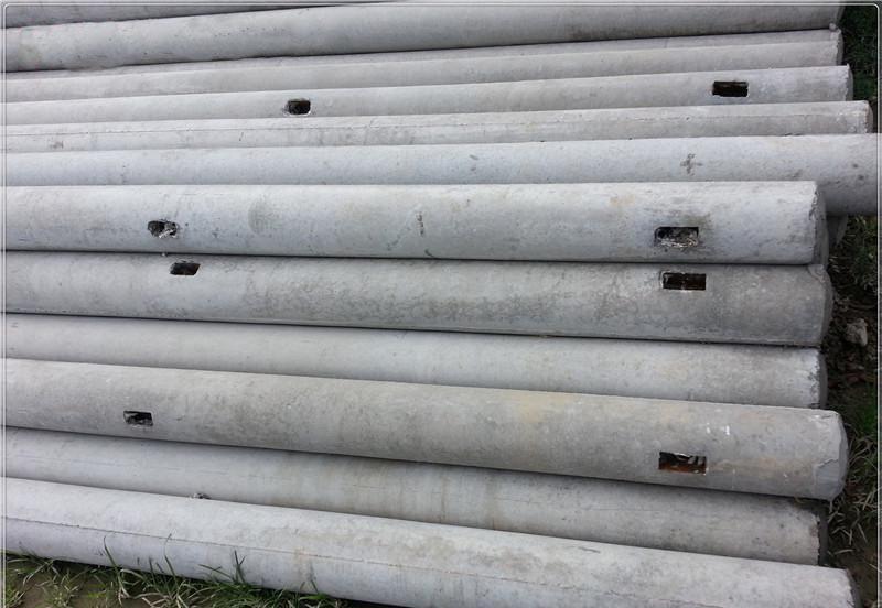 15米非预应力电杆和18米混凝土 18米混凝土高压电杆