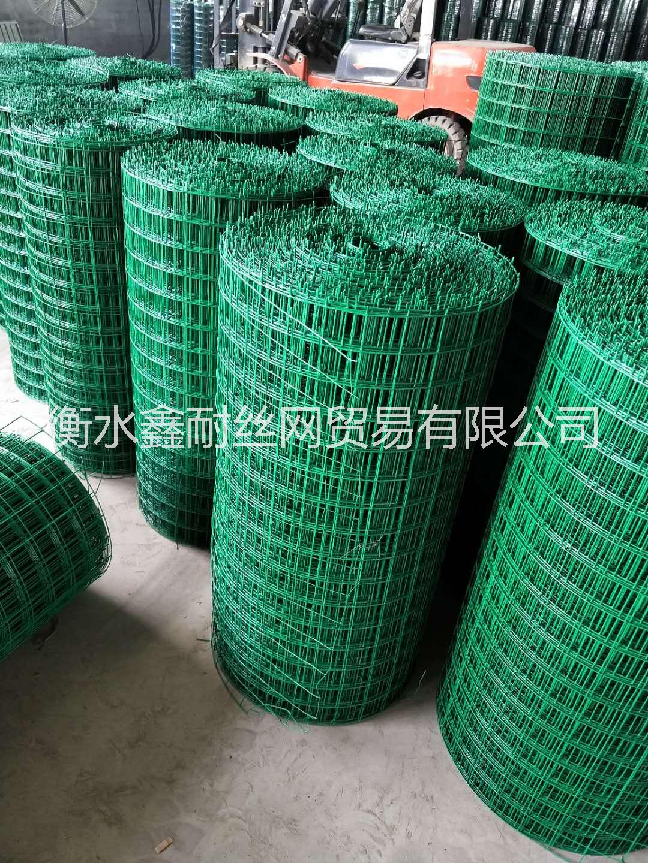 热镀锌喷塑围栏圈养鑫耐涂塑荷兰网