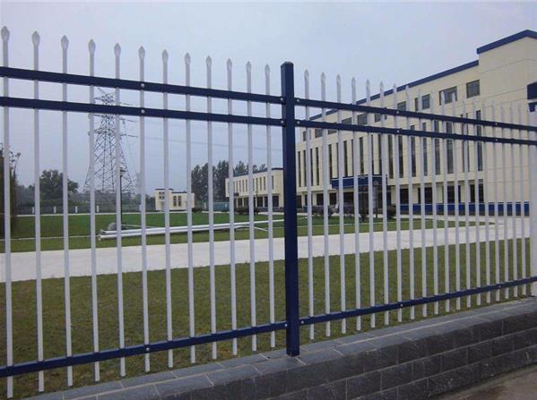 供应企业厂区围墙护栏厂区锌钢围墙围栏 室内铁艺栏杆