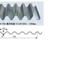 YX35-125-750楼承板成型工艺及专机设计压型钢板YX-35-125-750(V125 YX35-125-750