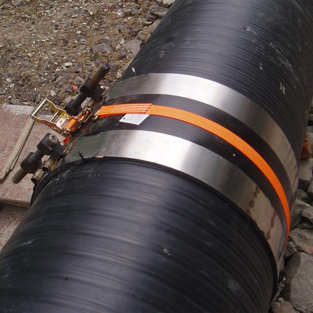 供应天智达牌中空壁缠绕管电热熔带施工