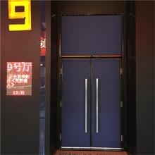 厂家长期供应播音室会议室影院手动平开钢质隔音门