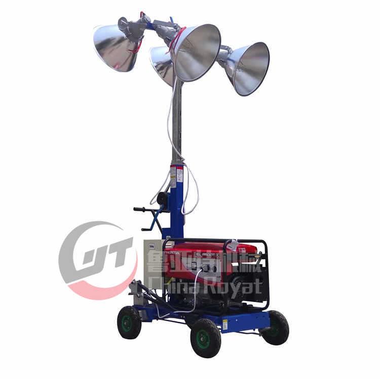 工程移动照明灯现货供应 赶工期必备升降式工地应急照明车