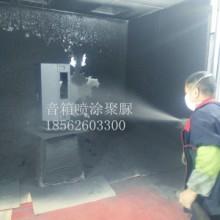 广州番禺山东青岛音箱专用聚脲漆聚脲设备