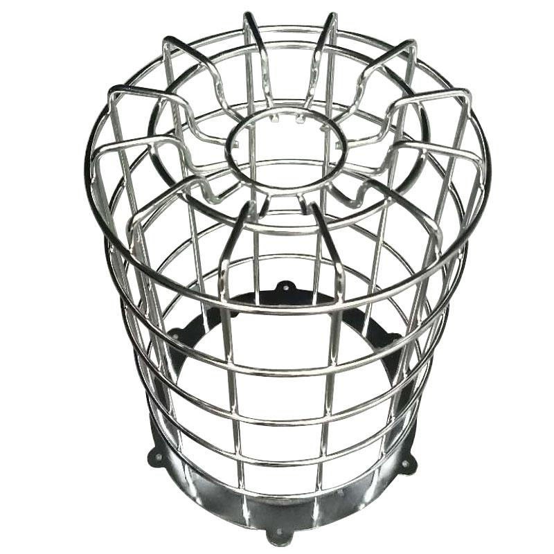 不锈钢LED灯防撞灯罩,铁线防爆 LED灯不锈钢防撞灯罩
