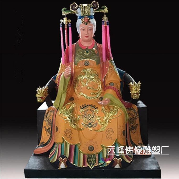 河南佛像总厂批发十二老母佛像 三宵娘娘图片 十二金仙摆件家居寺庙佛像定制