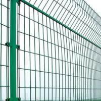 1.8m*3m双边丝浸塑护栏