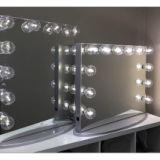 灯泡镜 好莱坞鏡子 led灯泡镜 发光灯泡镜 好莱坞镜 好莱坞镜灯泡镜
