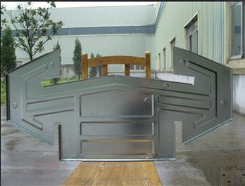 上海700菱型镀锌板气楼骨架片批发商