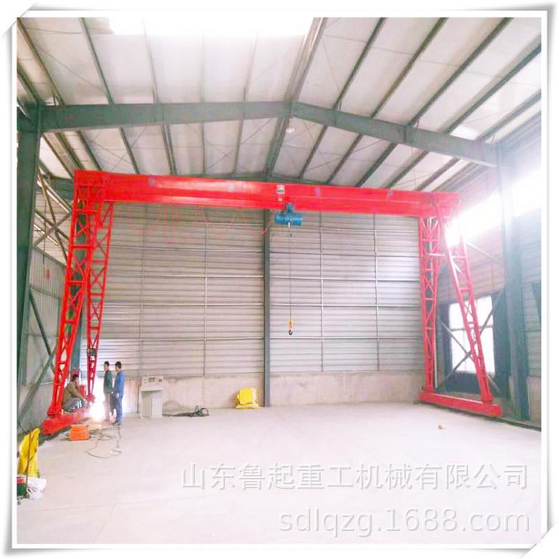 厂家定做MH 2吨箱型 龙门吊2吨单梁花架 2吨小型龙门架行车