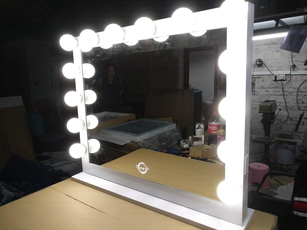 灯泡镜 好莱坞鏡 台式镜 好莱坞灯泡鏡