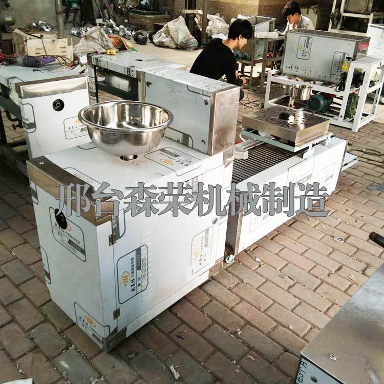 全自动仿手工凉皮机 蒸汽式商用凉皮河粉机 新型不锈钢凉皮机厂家直销直销 小本创业米面机械