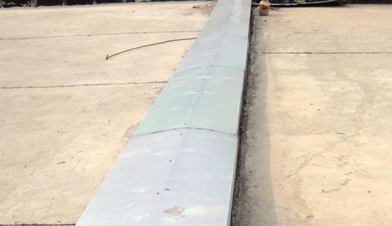 建筑铝合金屋面变形缝 屋面变形缝价格
