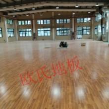 上海 专业体育运动木地板 厂家 供应优质枫木篮球木地板 包安装批发