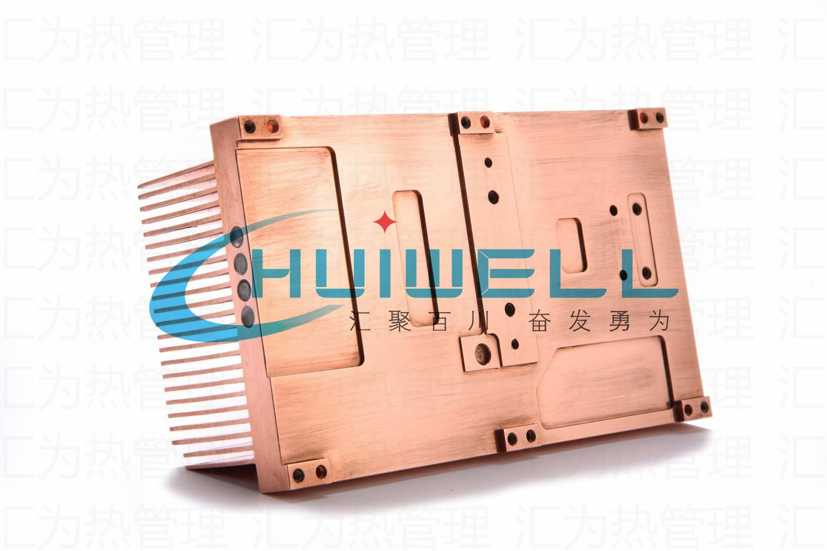 【研发定制】高性能芯片电阻电容变压器件冷却风冷水冷液冷热管铜铲齿散热器片模块模组组件