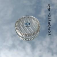 供应LED灯具高硼硅玻璃盖 异形高硼硅玻璃器件定制
