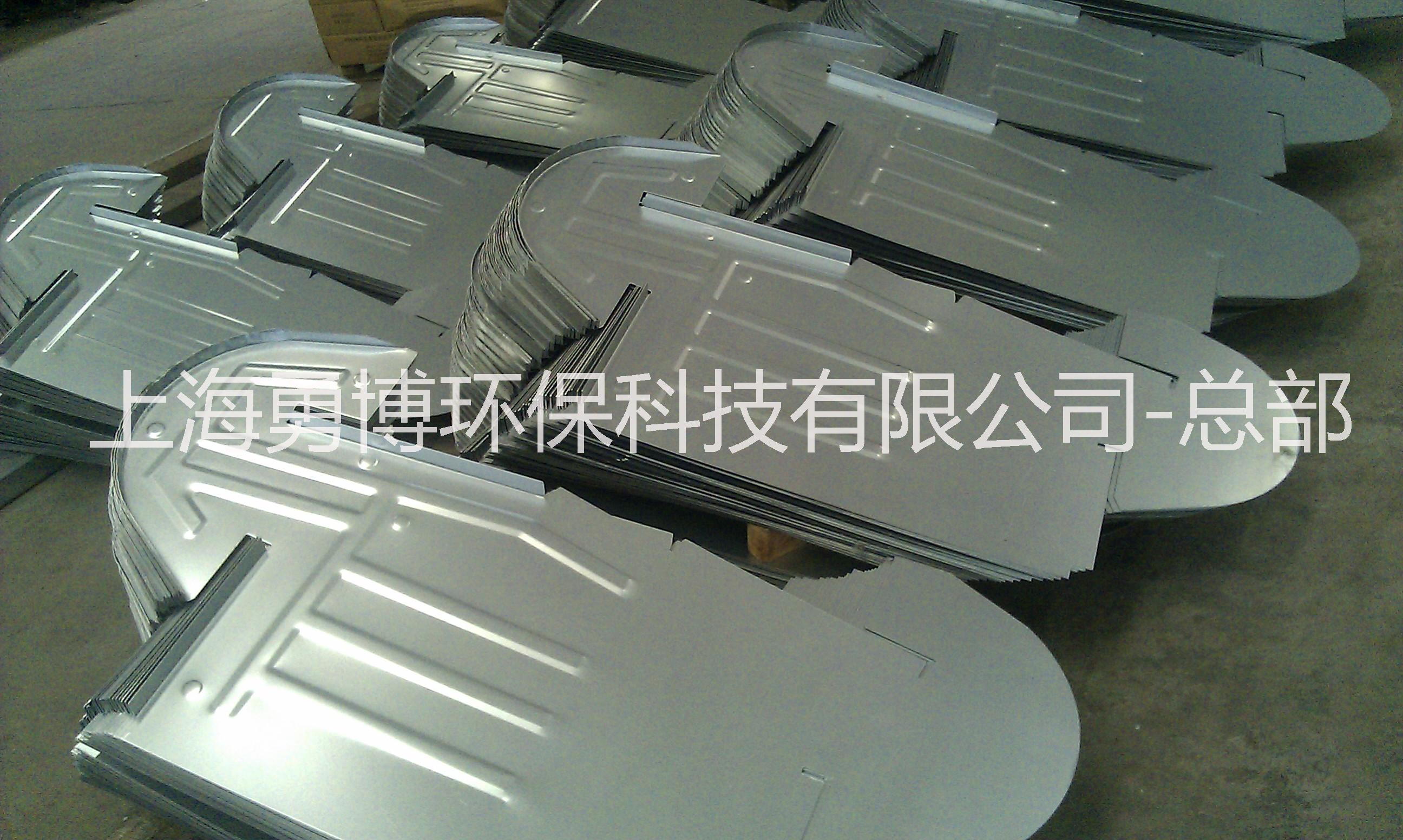 上海勇博1200型镀锌板骨架片制作安装