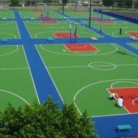 贵阳塑胶球场、户外运动设施