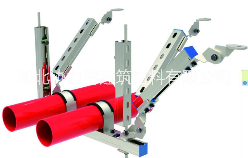 四川DN65抗震支吊架综合管廊支架 DN80抗震支吊架  综合管廊支