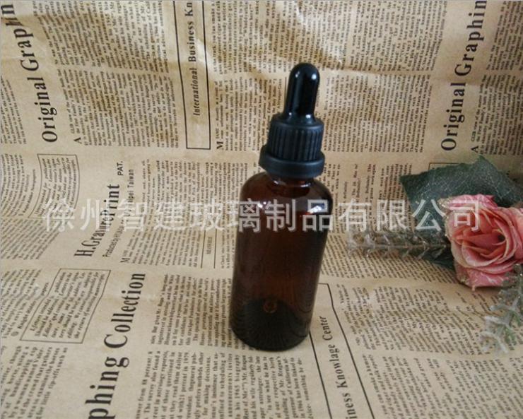 供应精油瓶  高档5ml 100ml茶色精油瓶 茶色现货精油瓶 化妆品瓶 精油玻璃瓶