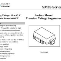 SM8S22A大功率TVS管