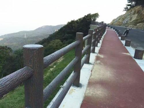 三明仿木栏杆_仿木栏杆水泥护栏质量好的厂家