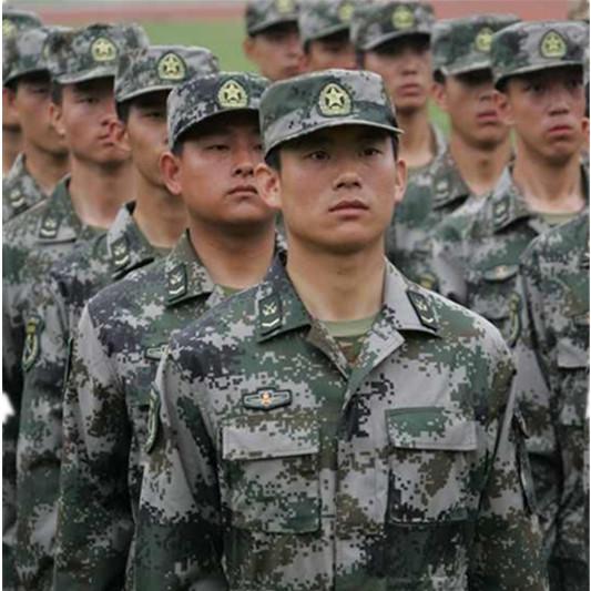 作训服 大学生训练服 迷彩服套装 定制定做军训迷彩服