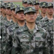 作训服 大学生训练服 迷彩服套装 定制定做军训迷彩服图片