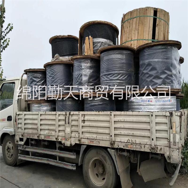 高价回收重庆二手光缆回收烽火24芯ADSS电力光缆