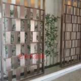 西宁钣金定制不锈钢屏风隔断 高档酒店不锈钢屏风 工程装饰品上门安装