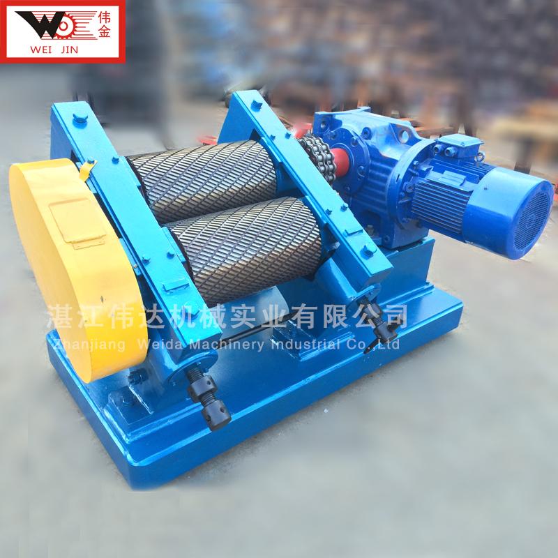 湛江伟达橡胶压水机ZP510*760 出料规格可调节 干胶绉片机