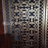 宝鸡古铜铝板雕刻屏风别墅铝艺屏风中式铝艺屏风