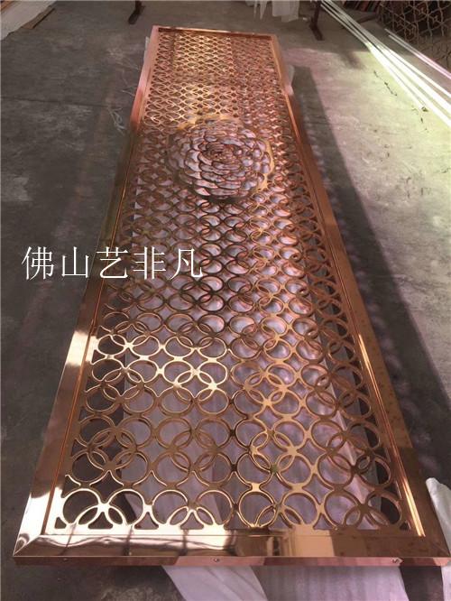 汕头装饰大型铝板浮雕工艺屏风实力厂家