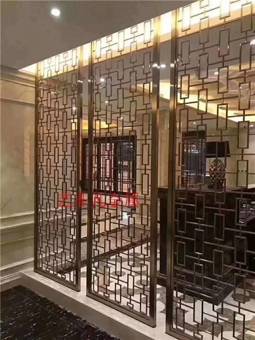 南通精品不锈钢镂空雕花屏风 艺术造型屏风 厂家直销 可定制