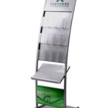 金柯资料架系列ZL-045cw 供应带广告板报刊架,新款书刊架,宣传册架批发