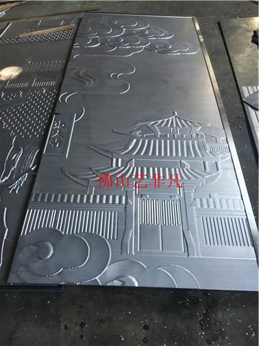 荆门专业定做欧式室内仿古铜铝板浮雕壁画厂家