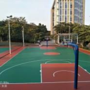 篮球场彩色橡胶图片