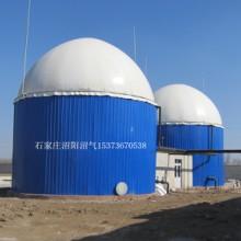 大型沼气设备搪瓷拼装发酵存储罐图片
