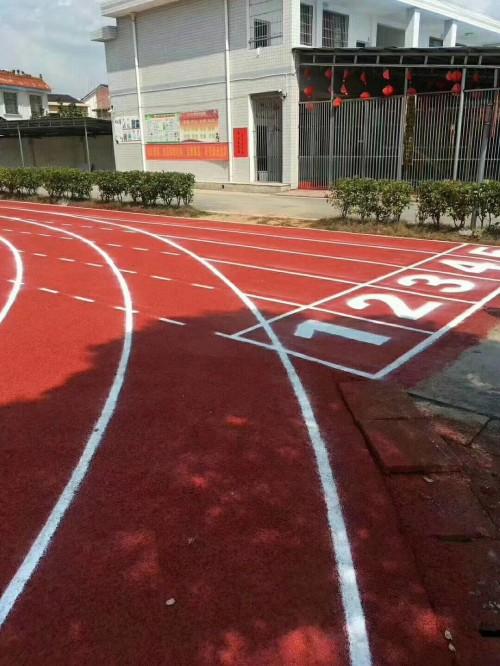 塑胶跑道塑胶跑道造价_操场跑道做塑胶地面 学校塑胶跑道工程承接